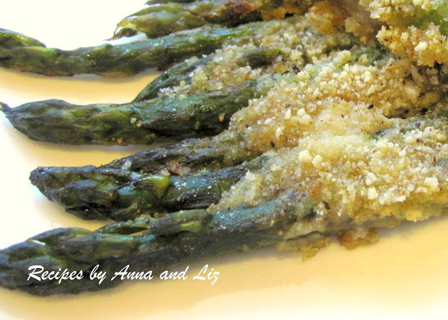 M om's Roasted Low-Calorie Asparagus by 2sistersrecipes.com