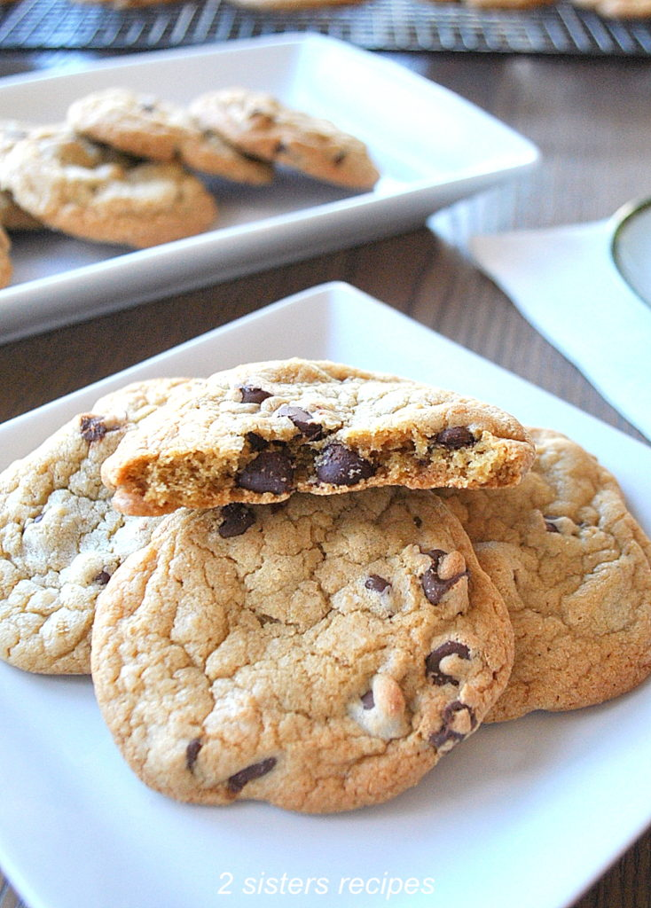 Perfect Chocolate Chip Cookie Recipe by 2sistersrecipes.com