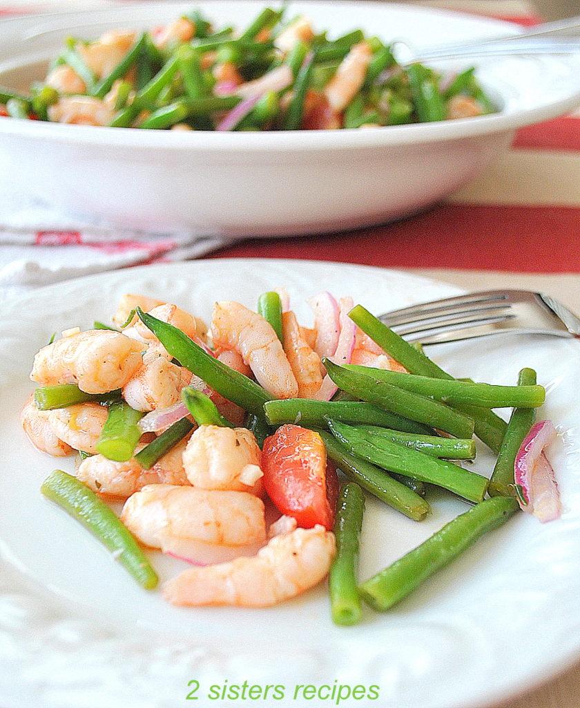 Best Shrimp Green Bean Salad by 2sistersrecipes.com