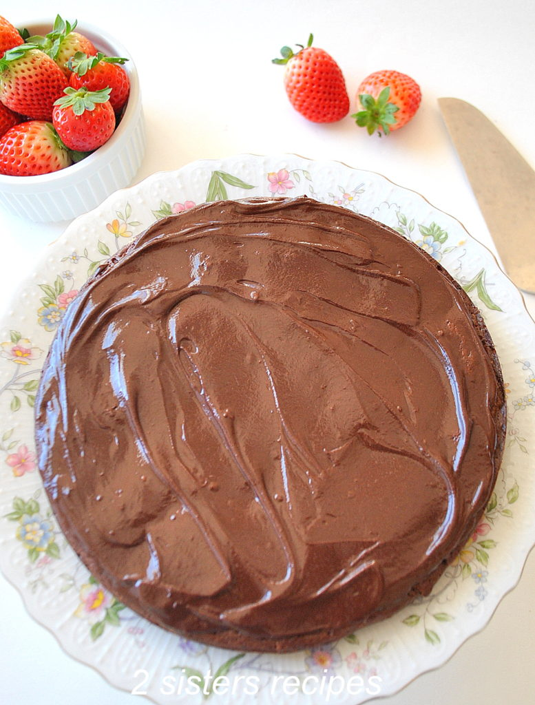 Gluten-Free French Chocolate Cake
