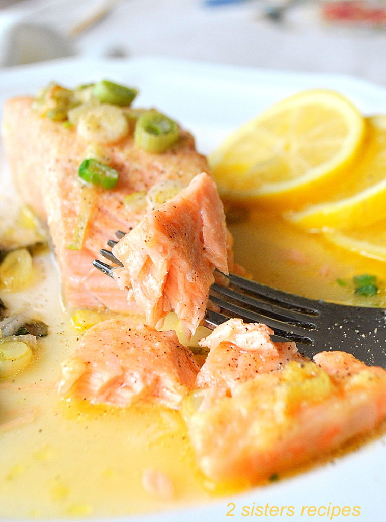 Easy Baked Salmon by 2sistersrecipes.com