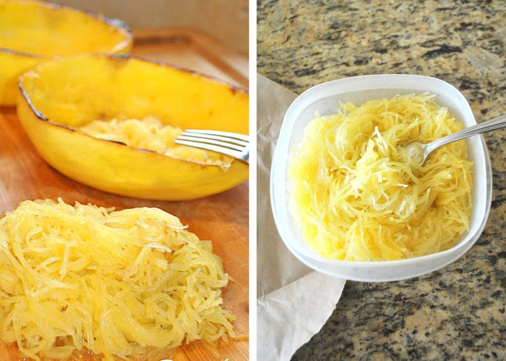 Photos of spaghetti squash. by 2sistersrecipes.com