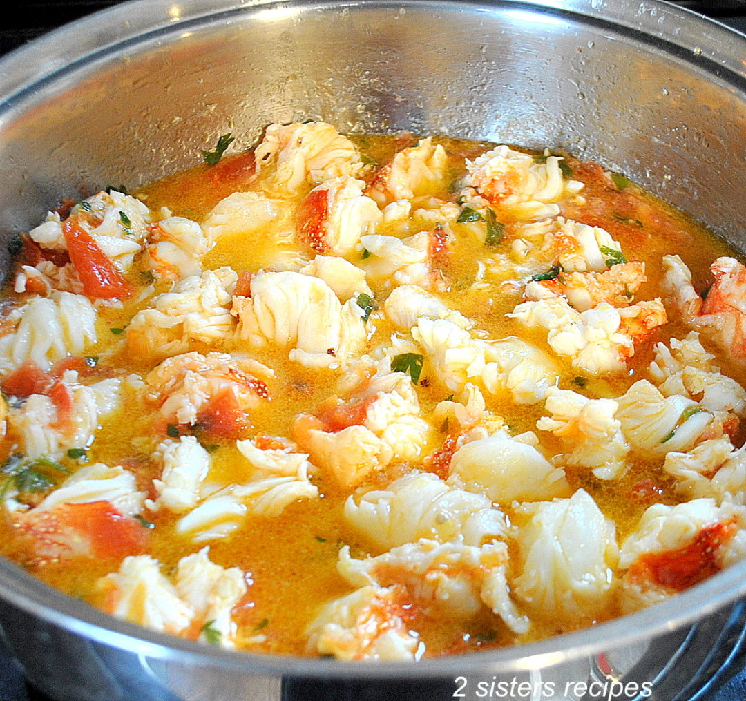 Best Lobster Sauce by 2sistersrecipes.com