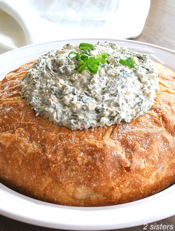 Easy Knorr Spinach Dip by 2sistersrecipes.com