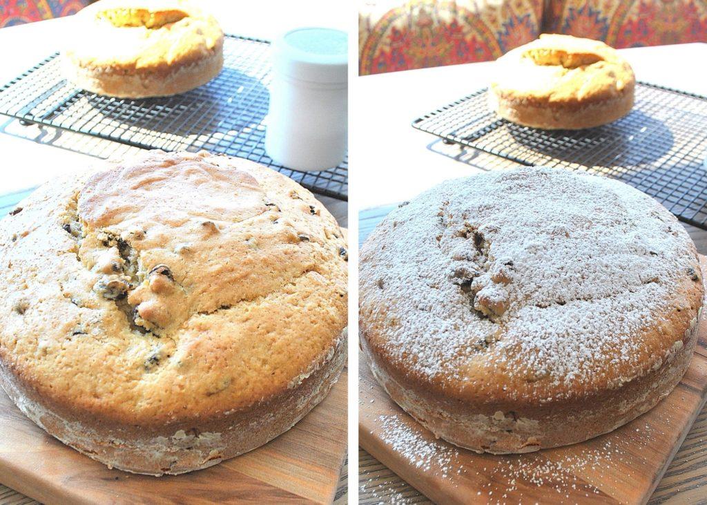 Photo of baked Irish Soda bread. by 2sistersrecipes.com