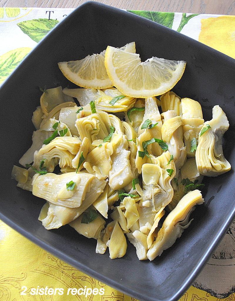 Delicious Artichoke Hearts Salad by 2sistersrecipes.com