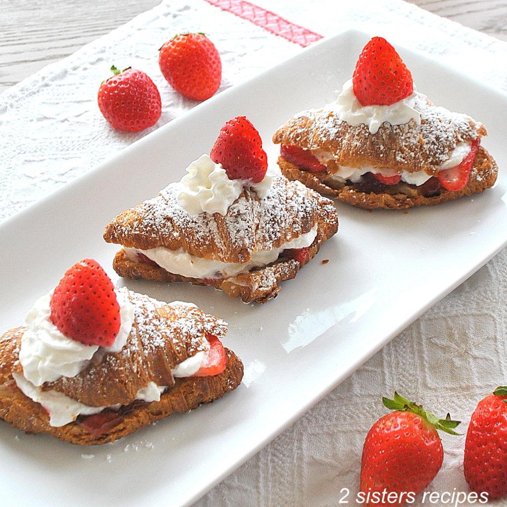 Easy Strawberry Shortcake Recipe by 2sistersrecipes.com
