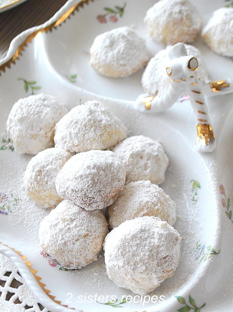 Lemon Thyme Tea Cookies by 2sistersrecipes.com