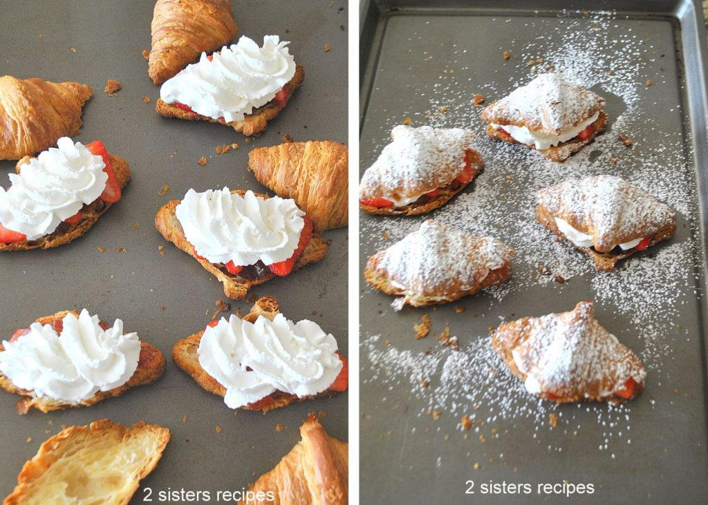 Added the whipped cream and tops. by 2sistersrecipes.com