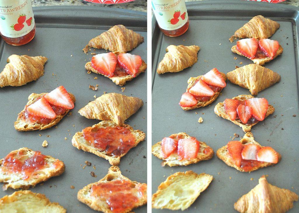 Steps to make strawberry shortcake. by 2sistersrecipes.com