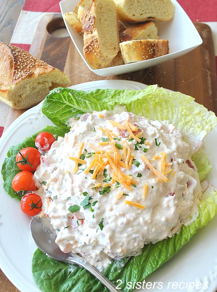 Best Loaded BLT Dip by 2sistersrecipes.com