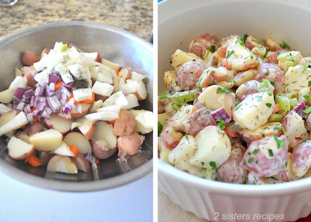 Baby Red Potato Salad by 2sistersrecipes.com