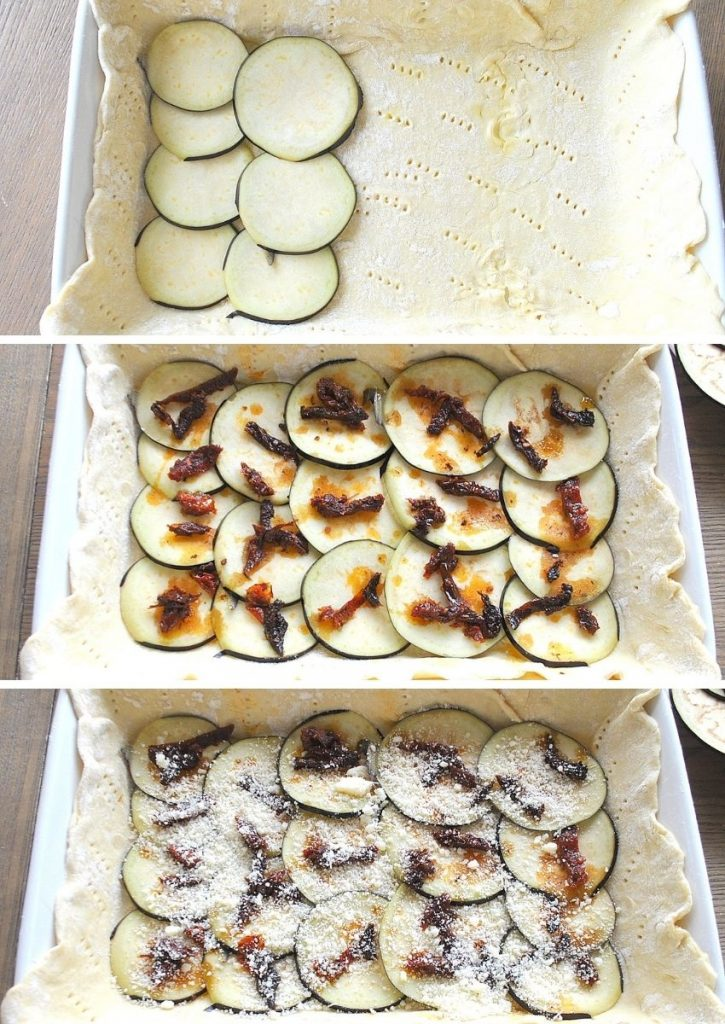 Steps to layer the ingredients . by 2sistersrecipes.com