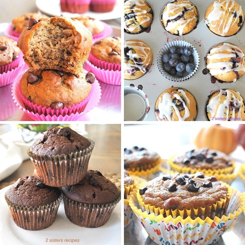 10 Best Muffin Recipes by 2sistersrecipes.com